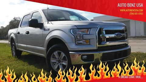 2017 Ford F-150 for sale at AUTO BENZ USA in Fort Lauderdale FL