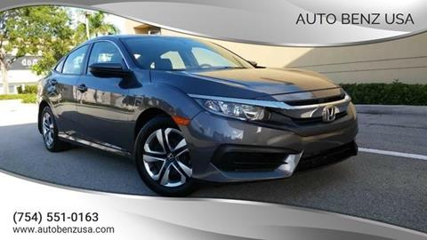 2018 Honda Civic for sale in Fort Lauderdale, FL