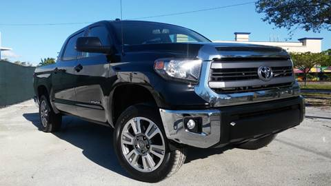 2015 Toyota Tundra for sale at AUTO BENZ USA in Fort Lauderdale FL