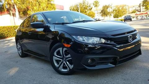 2016 Honda Civic for sale at AUTO BENZ USA in Fort Lauderdale FL