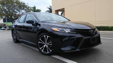 2019 Toyota Camry for sale at AUTO BENZ USA in Fort Lauderdale FL