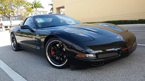 2003 Chevrolet Corvette for sale at AUTO BENZ USA in Fort Lauderdale FL