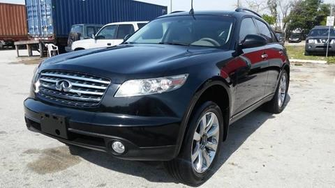 2004 Infiniti FX45 for sale at AUTO BENZ USA in Fort Lauderdale FL