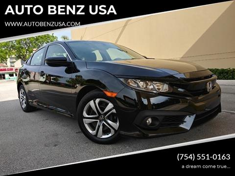 2018 Honda Civic for sale in Fort Lauderdale, FL