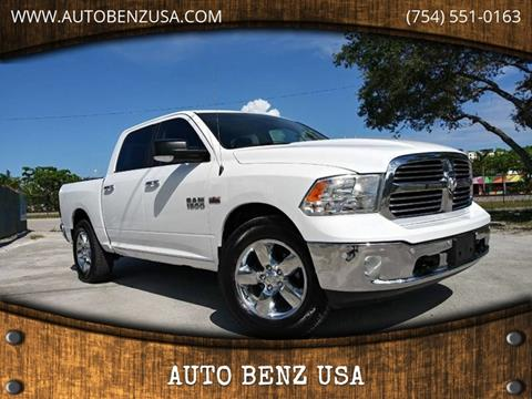 2016 RAM Ram Pickup 1500 for sale at AUTO BENZ USA in Fort Lauderdale FL
