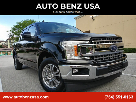 2019 Ford F-150 for sale at AUTO BENZ USA in Fort Lauderdale FL