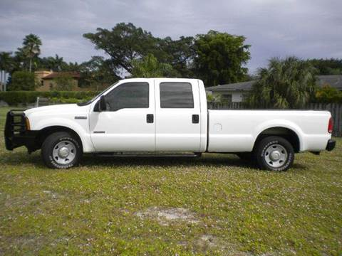 2006 Ford F-250 for sale at AUTO BENZ USA in Fort Lauderdale FL