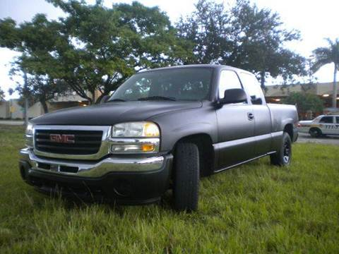 2006 GMC Sierra 1500 for sale at AUTO BENZ USA in Fort Lauderdale FL