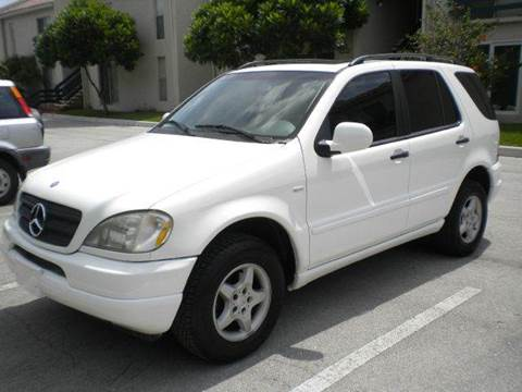 2000 Mercedes-Benz M-Class for sale at AUTO BENZ USA in Fort Lauderdale FL