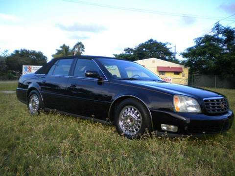 2004 Cadillac DeVille for sale at AUTO BENZ USA in Fort Lauderdale FL
