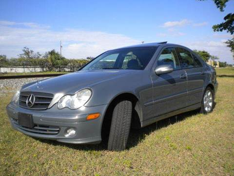 2005 Mercedes-Benz C-Class for sale at AUTO BENZ USA in Fort Lauderdale FL