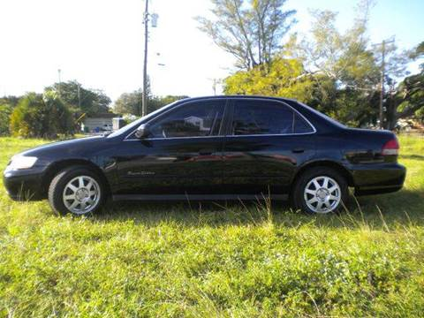 2002 Honda Accord for sale at AUTO BENZ USA in Fort Lauderdale FL