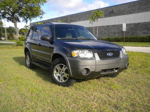 2005 Ford Escape for sale at AUTO BENZ USA in Fort Lauderdale FL
