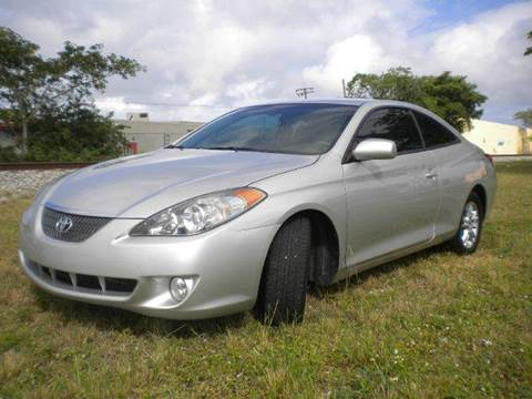 2006 Toyota Camry Solara for sale at AUTO BENZ USA in Fort Lauderdale FL