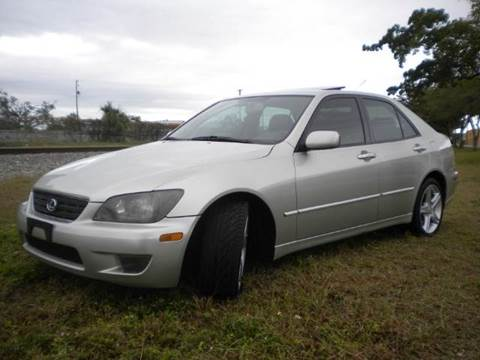 2002 Lexus IS 300 for sale at AUTO BENZ USA in Fort Lauderdale FL