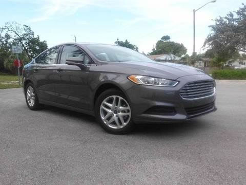 2014 Ford Fusion for sale at AUTO BENZ USA in Fort Lauderdale FL