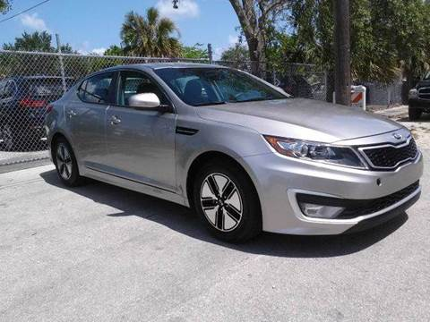 2013 Kia Optima for sale at AUTO BENZ USA in Fort Lauderdale FL