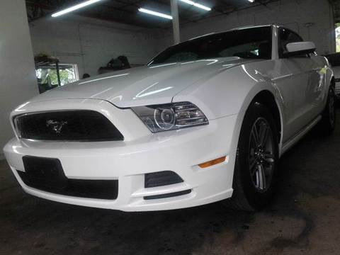 2013 Ford Mustang for sale at AUTO BENZ USA in Fort Lauderdale FL