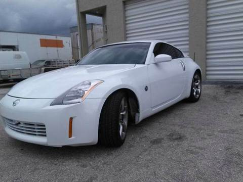 2005 Nissan 350Z for sale at AUTO BENZ USA in Fort Lauderdale FL