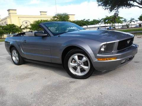 2006 Ford Mustang for sale at AUTO BENZ USA in Fort Lauderdale FL