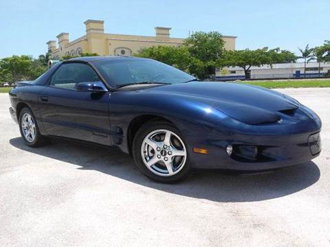 2002 Pontiac Firebird for sale at AUTO BENZ USA in Fort Lauderdale FL