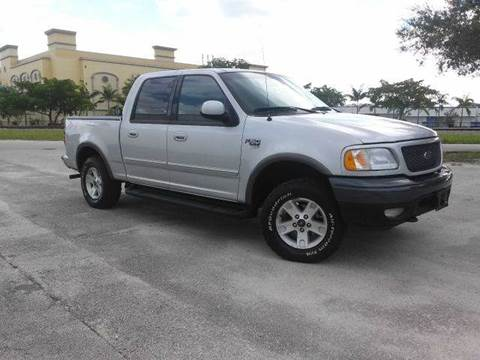 2003 Ford F-150 for sale at AUTO BENZ USA in Fort Lauderdale FL