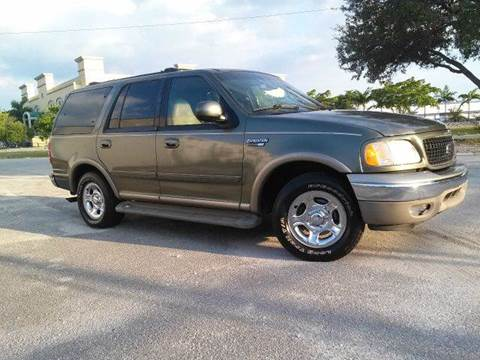 2001 Ford Expedition for sale at AUTO BENZ USA in Fort Lauderdale FL
