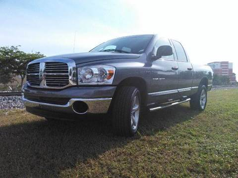 2007 Dodge Ram Pickup 1500 for sale at AUTO BENZ USA in Fort Lauderdale FL