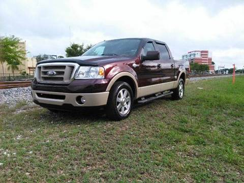 2008 Ford F-150 for sale at AUTO BENZ USA in Fort Lauderdale FL