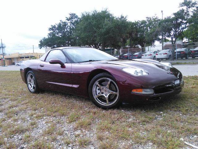 2002 Chevrolet Corvette for sale at AUTO BENZ USA in Fort Lauderdale FL