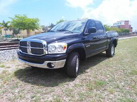 2008 Dodge Ram Pickup 1500 for sale at AUTO BENZ USA in Fort Lauderdale FL