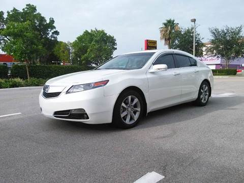 2012 Acura TL for sale at AUTO BENZ USA in Fort Lauderdale FL
