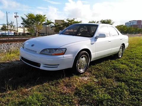 1996 Lexus ES 300 for sale at AUTO BENZ USA in Fort Lauderdale FL