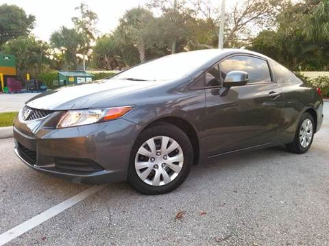 2012 Honda Civic for sale at AUTO BENZ USA in Fort Lauderdale FL