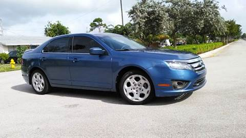 2010 Ford Fusion for sale at AUTO BENZ USA in Fort Lauderdale FL