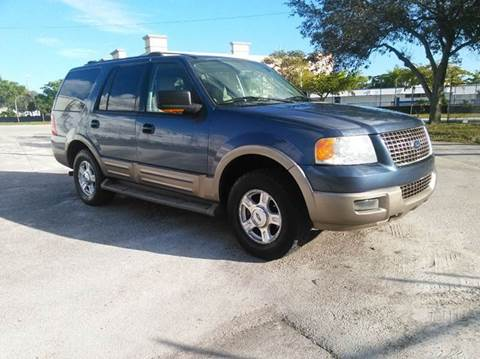 2004 Ford Expedition for sale at AUTO BENZ USA in Fort Lauderdale FL