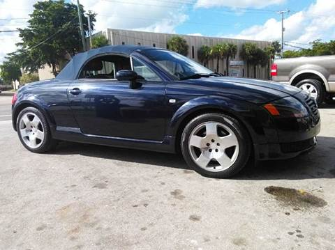 2002 Audi TT for sale at AUTO BENZ USA in Fort Lauderdale FL