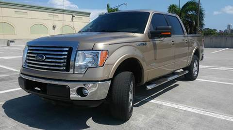 2012 Ford F-150 for sale at AUTO BENZ USA in Fort Lauderdale FL