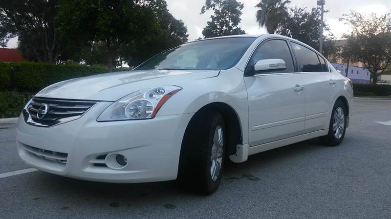 2011 Nissan Altima for sale at AUTO BENZ USA in Fort Lauderdale FL