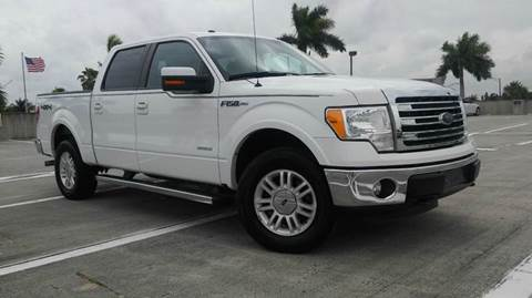 2013 Ford F-150 for sale at AUTO BENZ USA in Fort Lauderdale FL
