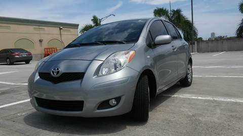 2010 Toyota Yaris for sale at AUTO BENZ USA in Fort Lauderdale FL