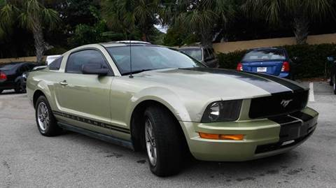 2005 Ford Mustang for sale at AUTO BENZ USA in Fort Lauderdale FL
