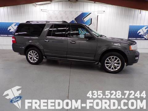 Freedom Ford Gunnison Utah >> 2017 Ford Expedition El For Sale In Gunnison Ut