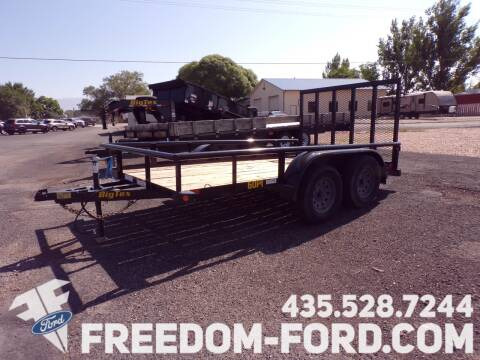 2020 Utility Trailer 60PI - 12BK for sale at Freedom Ford Inc in Gunnison UT