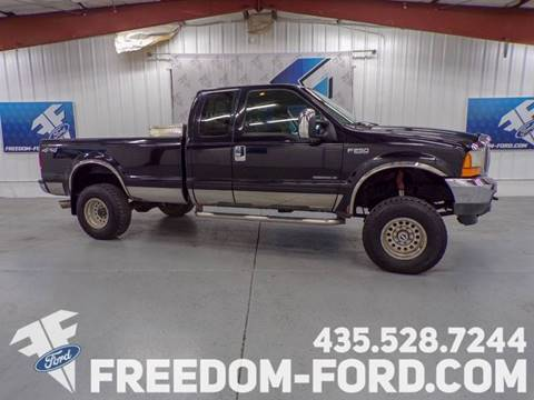 2001 Ford F-250 Super Duty for sale in Gunnison, UT