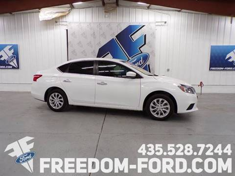 2018 Nissan Sentra for sale at Freedom Ford Inc in Gunnison UT