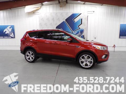 2019 Ford Escape for sale at Freedom Ford Inc in Gunnison UT