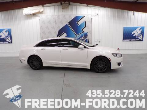 2017 Lincoln MKZ for sale at Freedom Ford Inc in Gunnison UT