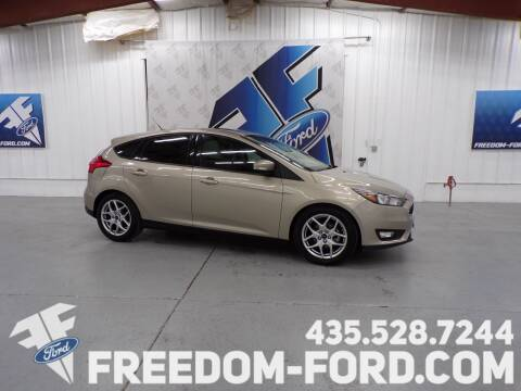 2015 Ford Focus for sale at Freedom Ford Inc in Gunnison UT