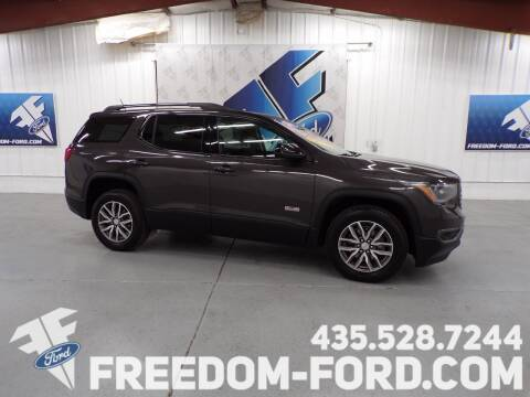 2017 GMC Acadia for sale at Freedom Ford Inc in Gunnison UT